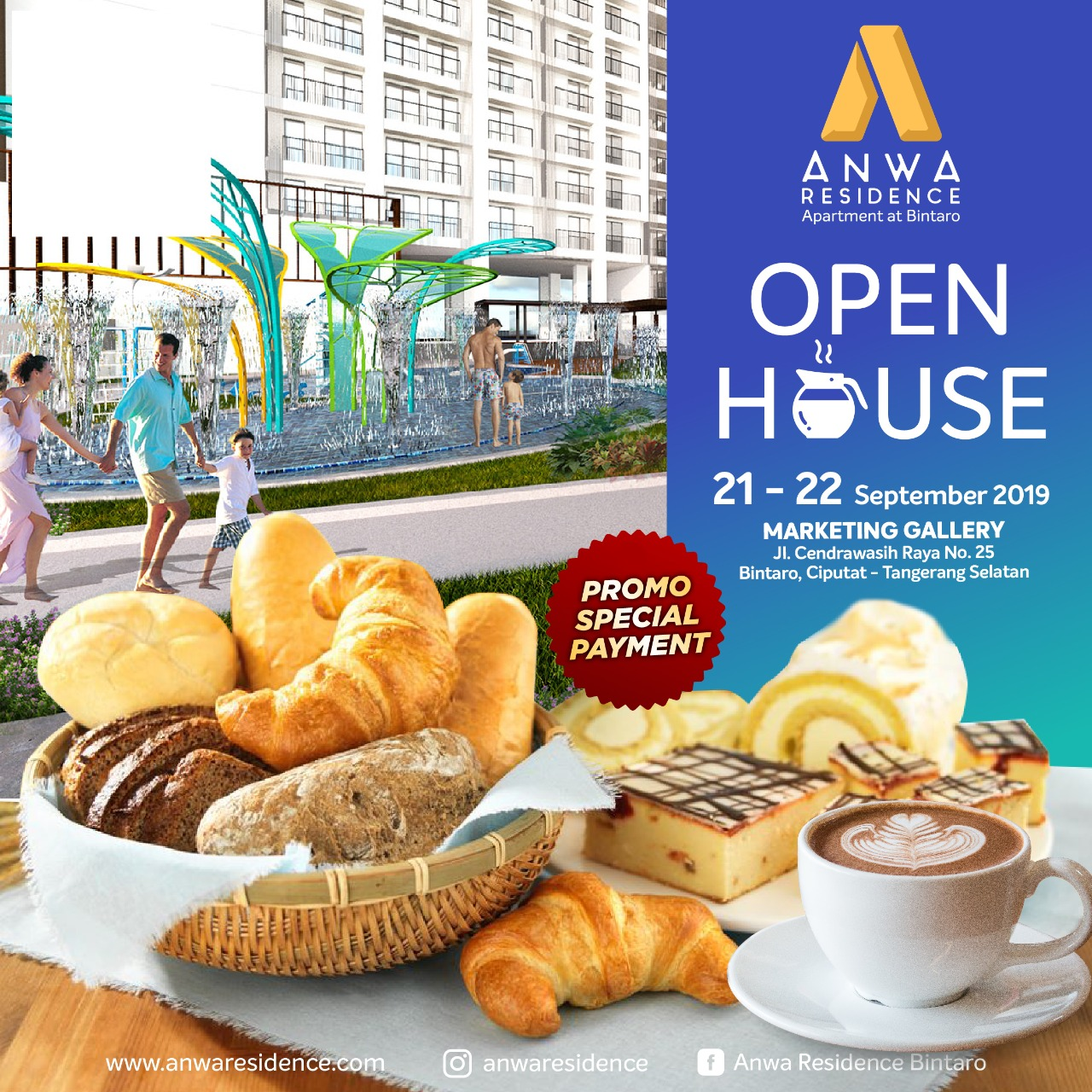 Open House Apartemen Anwa Residence A